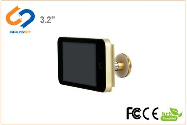 LCD Viewer HD Peephole Viewer / Smart Door Peephole Easy Assemble ความหนา 16 มม
